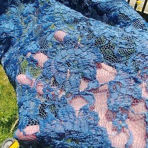 NWOT LuLaRoe size Large Marine blue Joy